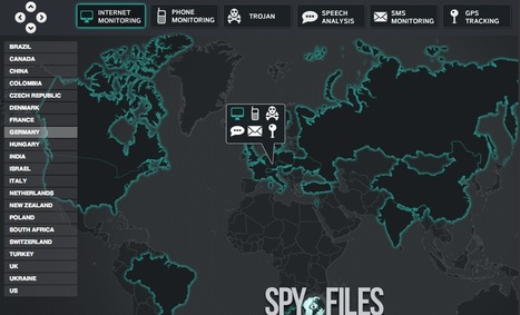 The Spy Files #wikileaks Internet's spy map OWNIs | #surveillance | e-Xploration | Scoop.it