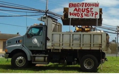 Woman Criticizes Honolulu's Government, Has Her Protest Signs Bulldozed - Forbes | Gov & Law- Tyler Coble | Scoop.it