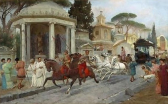 DE REYES, DIOSES Y HÉROES: Los vehículos en la antigua Roma   Mundo Clásico   Scoop.it