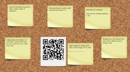 8 Online Noticeboards - Wallwisher and more | TEFL & Ed Tech | Scoop.it