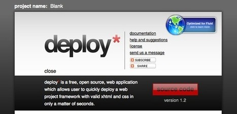 Deploy Projects Faster With Depoly* // seaneill.com   Web Design & Dev Journal   Scoop.it