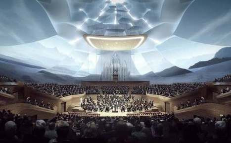 Glowing concert hall is a symphony of visual and audio design | Real Estate Plus+ Daily News | Scoop.it