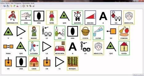 AraWord - Procesador de textos con pictogramas | Sistemas de comunicación aumentativa y alternativa | Scoop.it