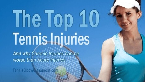 The Top 10 Tennis-Related Injuries   About Tennis Elbow   Scoop.it