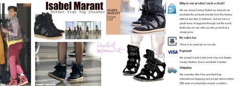 Isabel Marant bayley Sneakers- Shop Isabel Marant Online Store | Isabelle Marant | Scoop.it