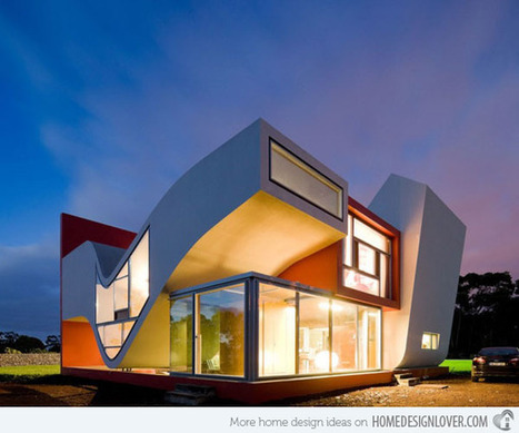 The Futuristic House on the Flights of Birds in Sao Miguel | Decoration for House | Today's Modern Architects and Architecture | Scoop.it