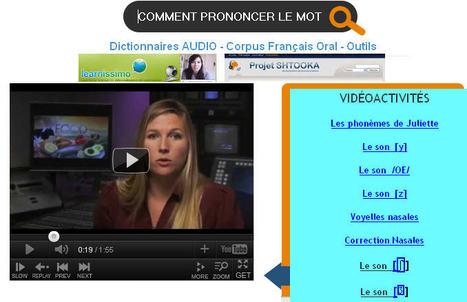 Corpus et Dictionnaires pour prononcer - Apprentissage Langues | Langues Education | Scoop.it