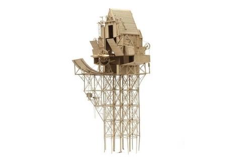 Artist Daniel Agdag crafts fantastical machines from humble cardboard | Francois' Scale Modeling Gazette | Scoop.it