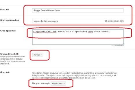 Blogger Forum ( Soru - Cevap ) Sayfası Oluşturma - Google Grupları - Blogger Dersleri | Blogger Dersleri ve Blogger Eklentileri | Scoop.it