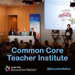 Common Core Teacher Institute   Common Core Conversation   Scoop.it