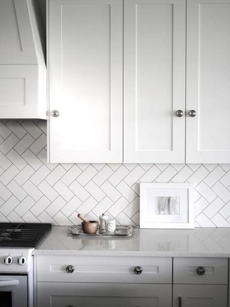 10 cuisines coup de coeur en camaïeu de gris ! | décoration & déco | Scoop.it