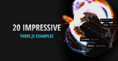 20 Impressive Examples for Learning WebGL with Three.js | Tutorialzine | weB tIpS | Scoop.it