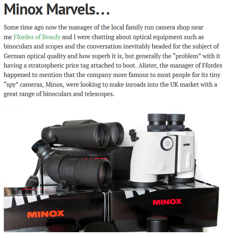 Minox Marvels…   MINOX   Scoop.it