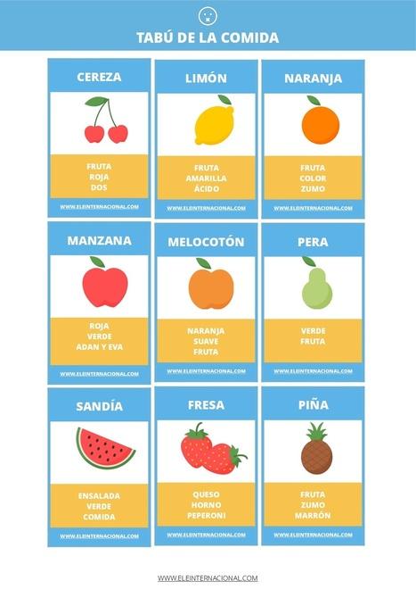 Tabú: Vocabulario de la comida | Las TIC en el aula de ELE | Scoop.it