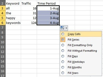 Use One Huge Table in Excel | distilled | Excel For SEO | Scoop.it