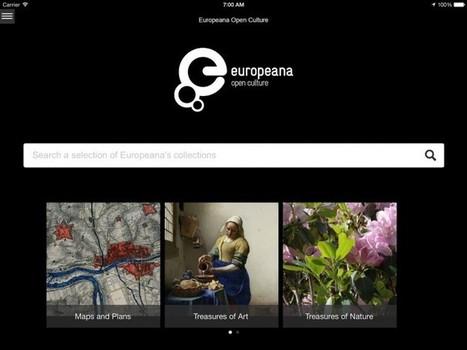 La biblioteca en línea Europeana lanza una aplicación gratuita con acceso a 350.000 imágenes - 20minutos.es | Pedalogica: educación y TIC | Scoop.it