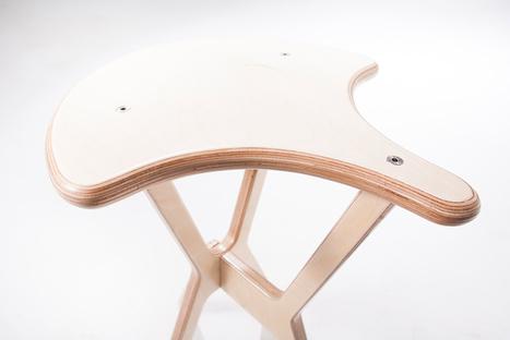 A DIFFERENT KIND OF SADDLE STOOL | L'Etablisienne, un atelier pour créer, fabriquer, rénover, personnaliser... | Scoop.it