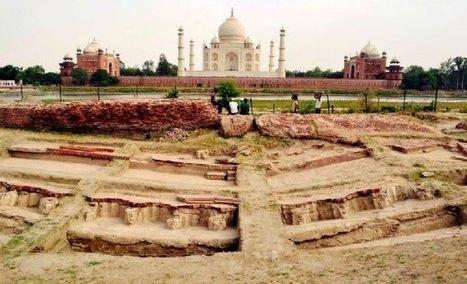 Shah Jahan's summer palace found near Taj Mahal | The Archaeology News Network | Kiosque du monde : Asie | Scoop.it