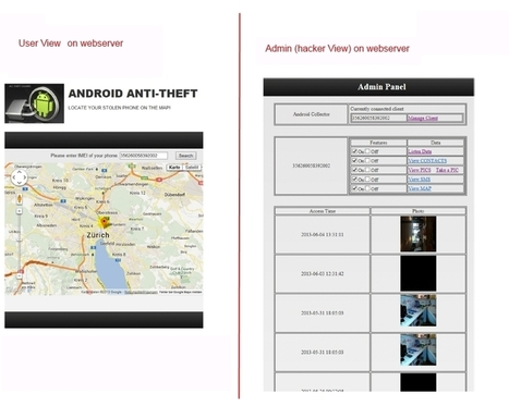 Android Inside Out Attack Demo Tool - app and webserver to demonstrate how to control a remote phone via webserver | #Security #InfoSec #CyberSecurity #Sécurité #CyberSécurité #CyberDefence & #eCommerce | Scoop.it