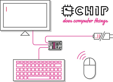 Tiny $9 computer CHIP rocks Kickstarter, promising tons of free apps | Natural History, Environment, Science, & Robots | Scoop.it