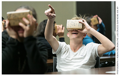 Virtual Reality Disruption: Will 3-D technology break through to the educational mainstream?   Lyseo.org (ICT in High School)   Scoop.it
