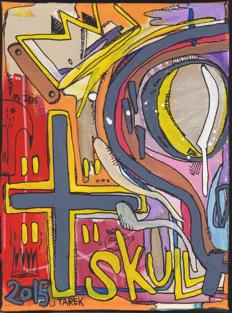 Deux peintures qui seront exposées à Moulins | Tarek artwork | Scoop.it