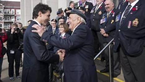 Video: Justin Trudeau re-opens Nova Scotia Veterans Affairs office | NovaScotia News | Scoop.it
