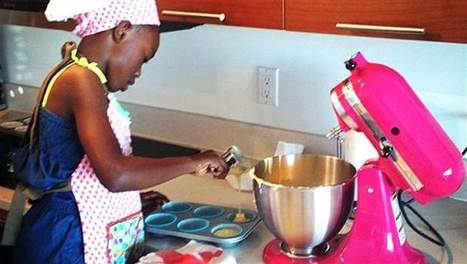 Tiny baker: 8-year-old pastry chef runs thriving baking business | Troy West's Radio Show Prep | Scoop.it