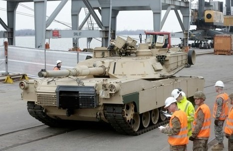 US sends heavy armor to Baltic states to 'deter' Russia | News about Lithuania for learners of English | Scoop.it