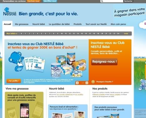 Nestlé Bébé chouchoute les parents | RelationClients | Scoop.it
