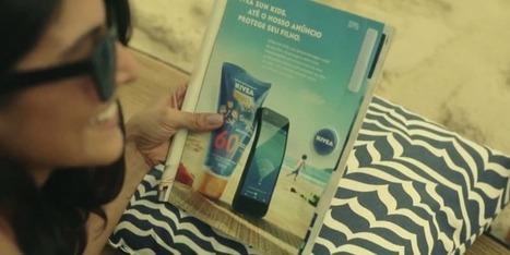 Nivea invente l'objet publicitaire connecté ! | Communication | Scoop.it