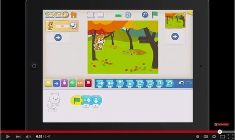An Excellent Lesson On How Students Can Use Scratch Jr for Digital Storytelling EdTech &MLearning | iPads in Education | Scoop.it
