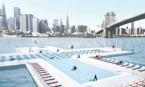 + Pool : piscines flottantes qui filtrent la pollution dans New York | Construction, maintenance piscine | Scoop.it