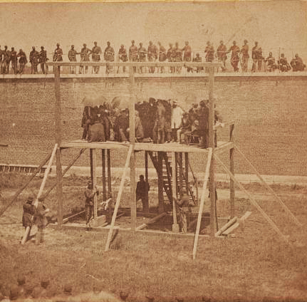 Rama » July 7, 1865 – Conspirators in Lincoln's Assassination are Hung Following a Military Tribunal | GenealoNet | Scoop.it