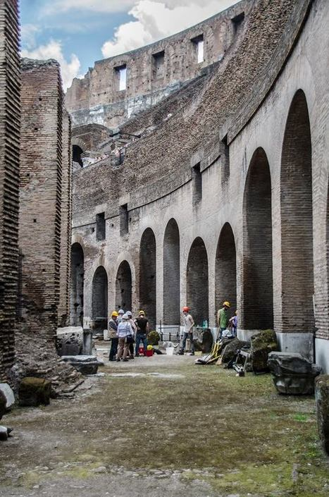 The Colosseum in the Middle Ages - Archaeology Magazine | Ancient History and Archaeology | Scoop.it