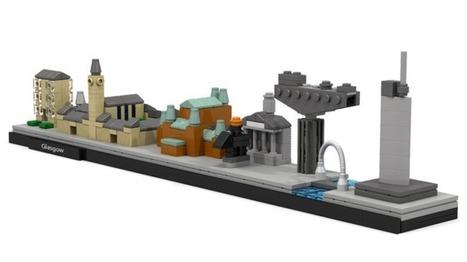 Lego fan designs Glasgow skyline - BBC News | Glasgow news | Scoop.it