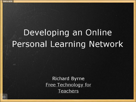 Personal Learning Network Creation for Teachers - Multiple Literacies & Web 2.0 - LibGuides at University of South Dakota | Personal Learning | Scoop.it