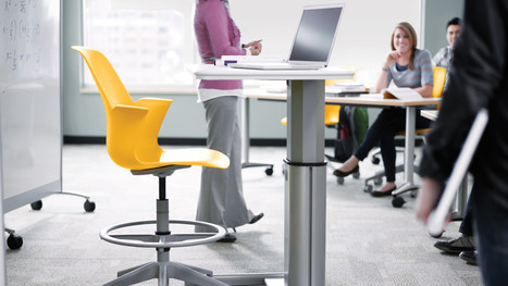 Node School Chairs | Classroom Chairs for Active Learning | Library Spaces: Creating a Learning Commons | Scoop.it