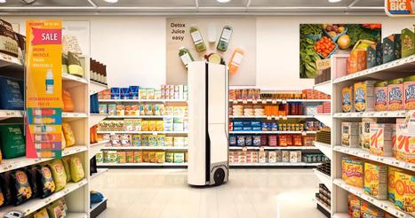 Ce robot fait l'inventaire tout seul dans les grandes surfaces | Une nouvelle civilisation de Robots | Scoop.it