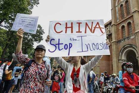 Des Vietnamiens en colère contre Pékin saccagent des usines chinoises | L'Air du Temps | Scoop.it