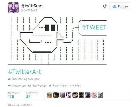 Twitter-Art: 140 Zeichen für Kunst - manager magazin | Twitter and the Museum | Scoop.it