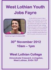 West Lothian Youth Jobs Fayre | Business Scotland | Scoop.it