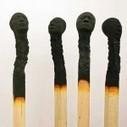 Matchstickmen: Burnt Matches Resembling Charred Human Heads by Wolfgang Stiller | Colossal | Dragons Hoard | Scoop.it