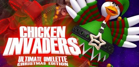 Chicken Invaders 4 Xmas v1.02ggl (Full/Unlocked) APK Free Download | Games | Scoop.it
