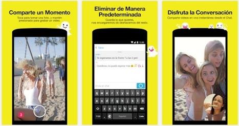 Ya puedes cambiar de cámara en Snapchat durante un vídeo | Creatividad y Comunicación 2.0 | Scoop.it