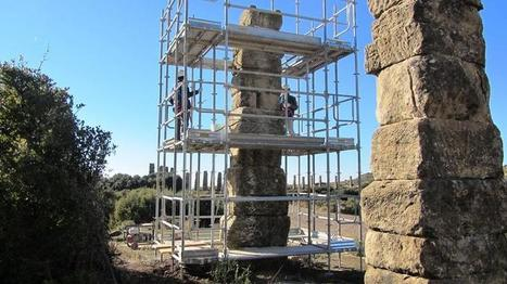 Comienzan las obras de restauración del acueducto romano de Los Bañales | historian: science and earth | Scoop.it