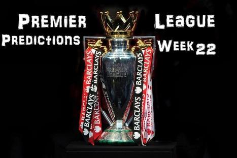 A Pint of Logic: Premier League predictions: Week 22 | Soccer | Scoop.it