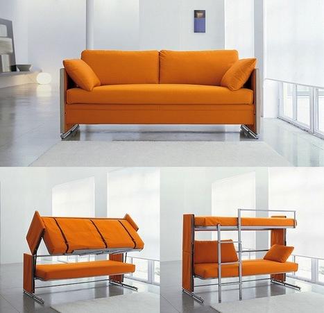 Multifunctional Sofa Bunk Bed - My Modern Metropolis | CRAW | Scoop.it