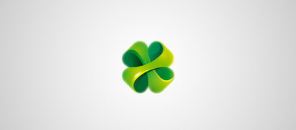40+ Examples of Lucky Clover Logo Designs | Logo & Brand | Scoop.it