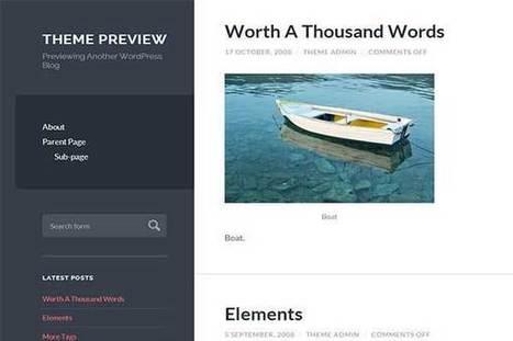 20+ Migliori Temi Wordpress Gratuiti Del 2014 | Classetecno- SEO, Wordpress, Webmarketing | Scoop.it